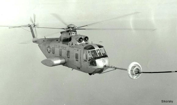 first helicopter aerial refueling