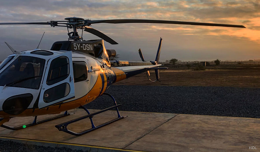 5Y-DSN Airbus Helicopters H125 / AS350B3e Ecureuil C/N 8126