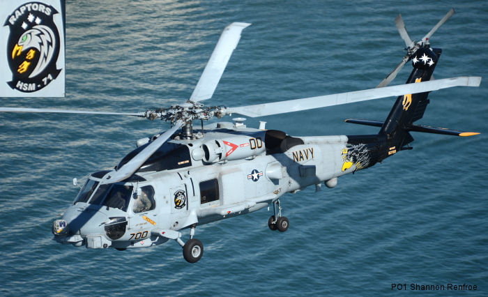 Helicopter Maritime Strike Squadron Seven One US Navy