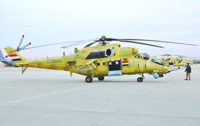 mi35m helicopter with  on  together with 786716 furthermore Nigerian Air Force Begin Taking likewise Page3 also 360 Degree Targeting System For Russian Mi 35 Crocodile Helicopter Gunships.