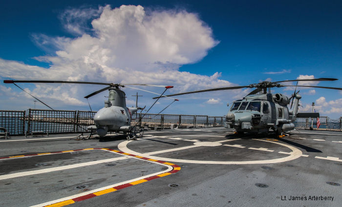 Helicopter Maritime Strike Squadron Three Five US Navy
