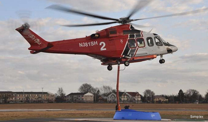 aw139 firefighter helicopter
