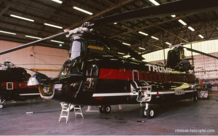 trump airliners shuttle helicopter