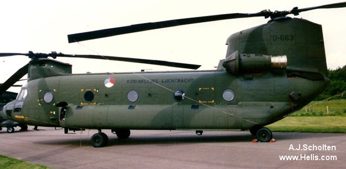 Boeing CH-47D Chinook c/n M.3663