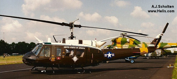 Bell UH-1H Iroquois c/n 13837