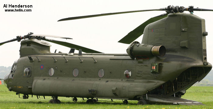 Boeing CH-47D Chinook c/n M.7025