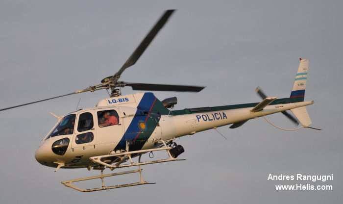 Eurocopter AS350B3 Ecureuil c/n 4169