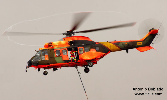 Eurocopter AS532AL Cougar c/n unknown