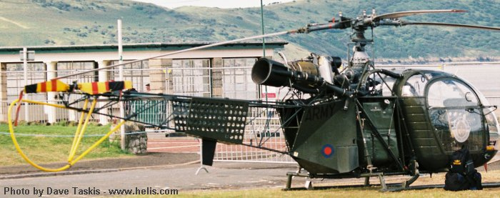 Army Air Corps SE3130  Alouette II