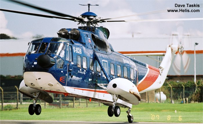 British International Helicopters s-61 H-3