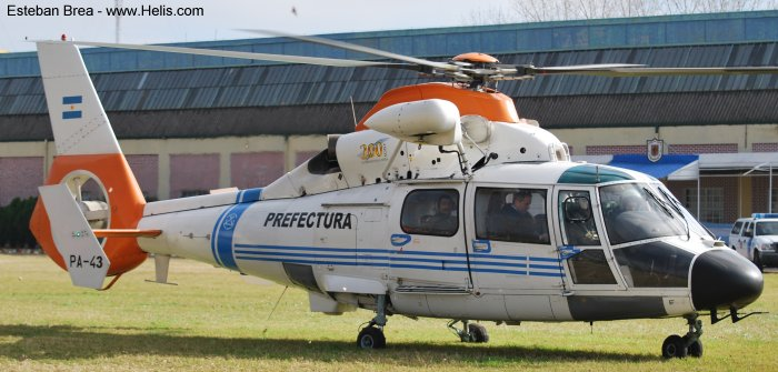 Eurocopter AS365N2 Dauphin 2 c/n 6479