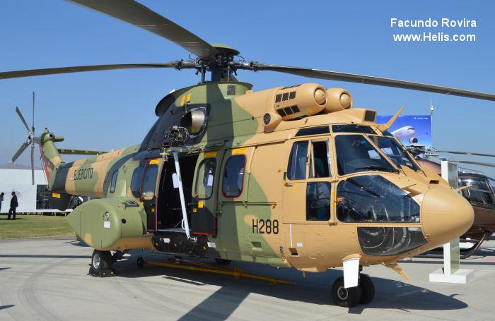 eurocopter AS532AL Cougar c/n cl288?