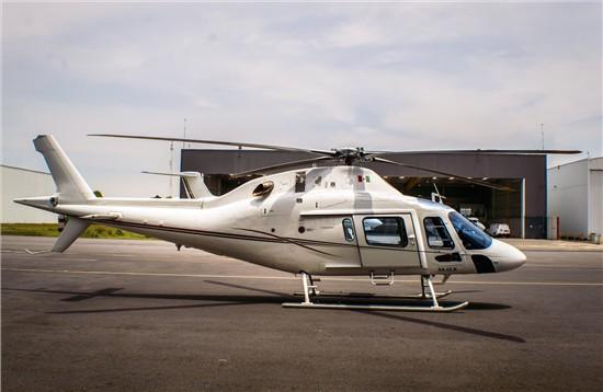 Helicopter AgustaWestland AW119Ke Koala Serial 14718 Register N531AM XA-ULK  used by AgustaWestland Philadelphia (