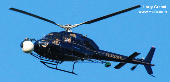 Helicopter Aerospatiale AS355F2 Ecureuil 2 Serial 5436 Register N311RL  N355HL used by State of Illinois State