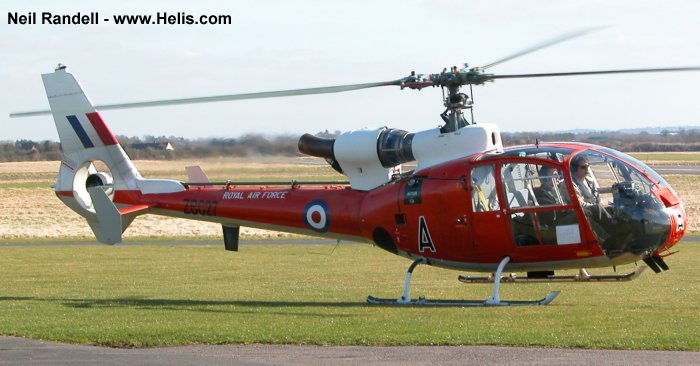 Royal Air Force SA341D Gazelle HT.3