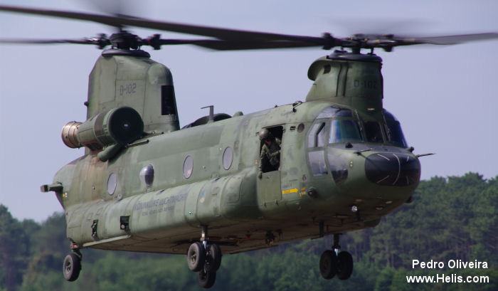Boeing CH-47D Chinook c/n M.4102