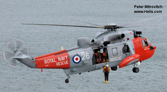 Westland Sea King HAS.1 c/n wa 649