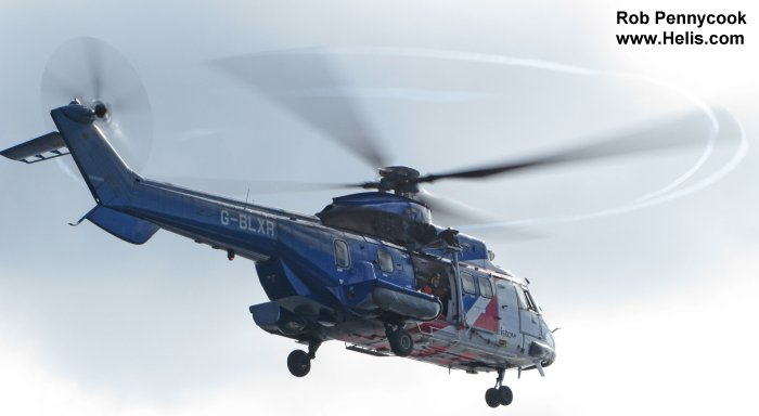As332 super puma in bristow helicopter database
