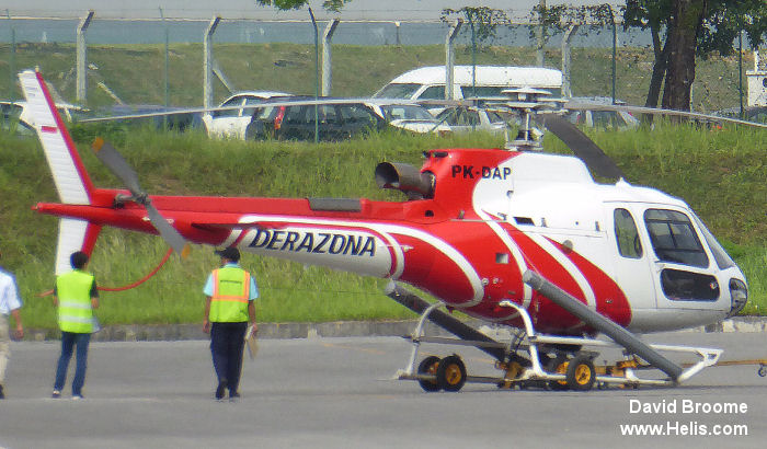 Airbus Helicopters as350 c/n unknown