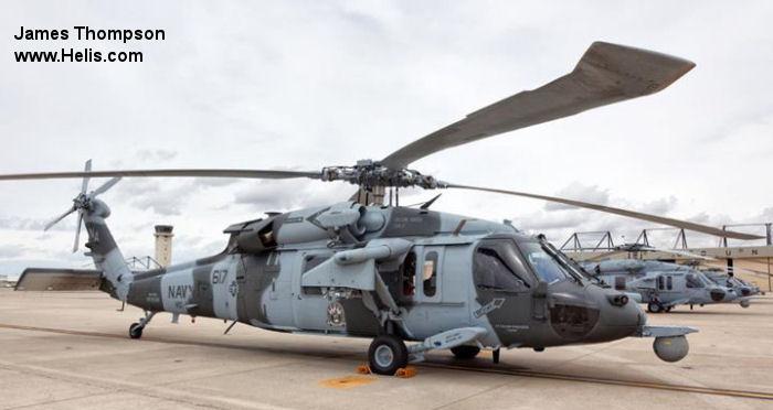 168539 Sikorsky MH 60S Seahawk C N Unknown