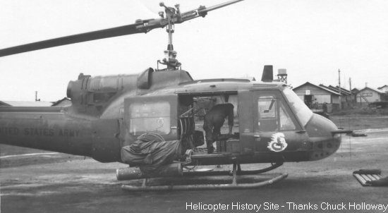 Bell 204/205 UH-1 helicopters in Vietnam