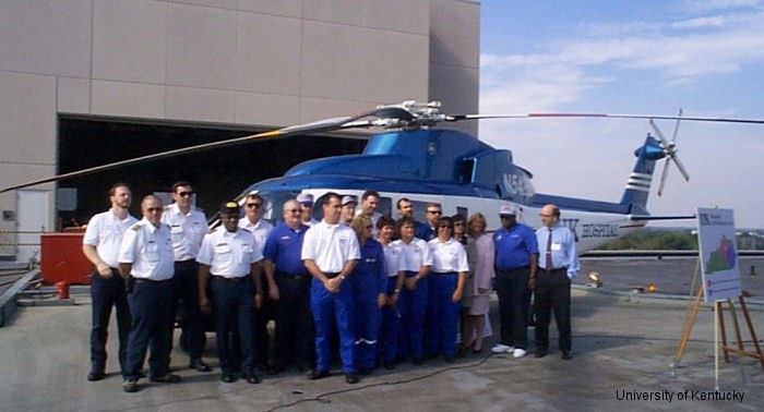 UK Hospital Air Medical Service to Base Second Helicopter in Eastern Kentucky
