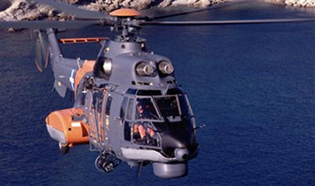 The Hellenic air force took delivery of the first two, of four, AS332C1 Super Puma to be used for maritime surveillance and search and rescue (SAR) missions