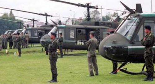 U.S. delivers anti-drug helicopters