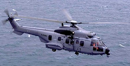The first RESCO (Combat Search and Rescue, CSAR) Cougar Mk2 helicopter was delivered to the Armée de l air