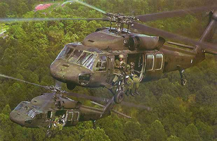 Black Hawk Helicopters to Go to Colombia in 2002