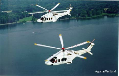 Second AB139 Helicopter Takes Flight