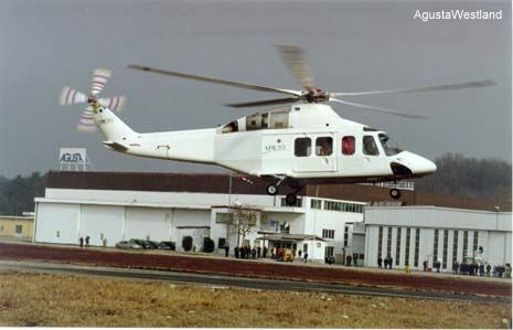 The Bell/Agusta Aerospace Company AB139 made its successful first flight on February 3, 2001