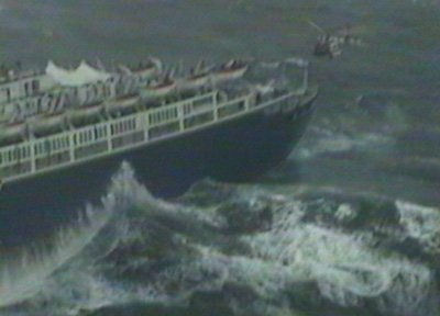 On December 17, 2000 the US Coast Guard established a record for the HH-60J rescue helicopter when 26 evacuees were flown to safety from the cruise ship SeaBreeze I some 225 nautical miles east of Virginia
