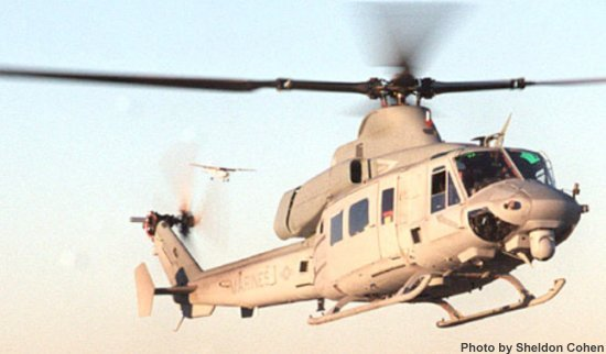 US Marine Corps new helicopter, the UH-1Y achieved a successful first flight on December 20, 2001