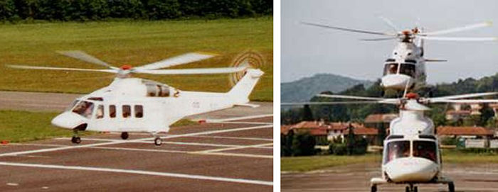 Three Bell/Agusta AB139 prototypes currently flying surpassing 190 total flight hours