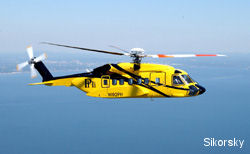 The first production Sikorsky S-92 helicopter begins offshore operations for PHI in the Gulf of Mexico