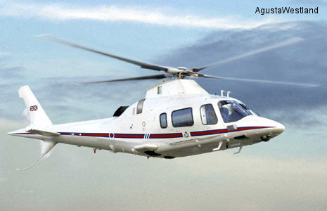 AgustaWestland wins contract to provide 3 A109 Power helicopters to RAF 32 (The Royal) Squadron for VIP transport mission