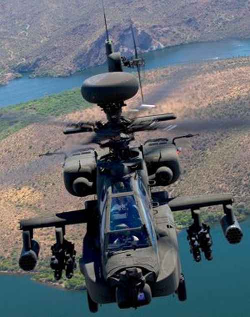 Boeing Delivers 501st AH-64D Apache Longbow to U.S. Army