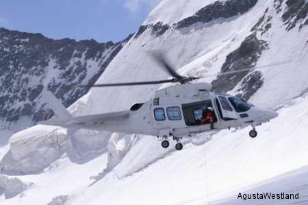 Swiss Air-Rescue REGA selected the AgustaWestland Grand as their new helicopter