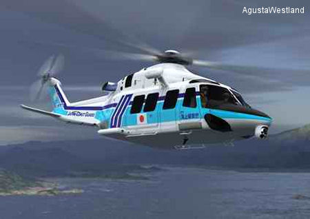 Japanese Coast Guard selects the AW139 as its new SAR helicopter. Up to 24 to be delivered by Mitsui Bussan Aerospace