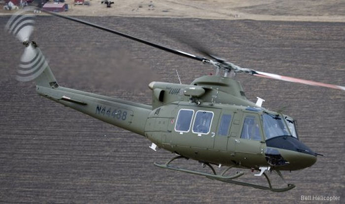 The Bell 412LUH is Bell Helicopter Submission for the US Army Light Utility Helicopter