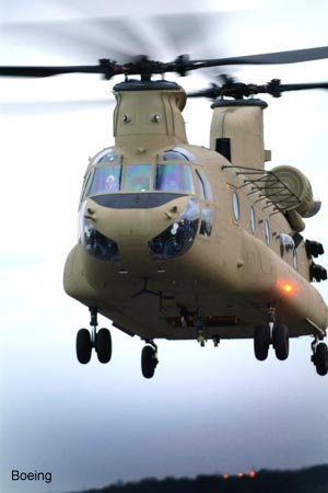 New Boeing CH-47F Takes Flight