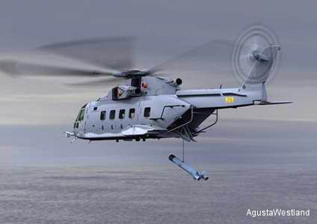 AgustaWestland announce the delivery by Kawasaki of the first EH101 helicopter to the Japanese Maritime Self Defence Force (JMSDF)