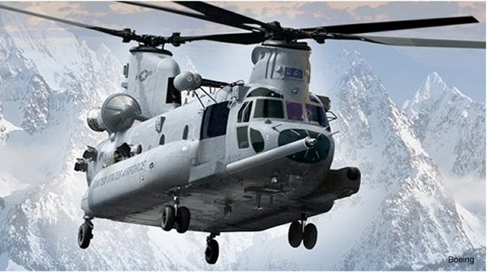 Boeing Awarded U.S. Air Force Combat Search and Rescue Contract