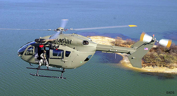 Eurocopter UH-145 Wins US Army LUH