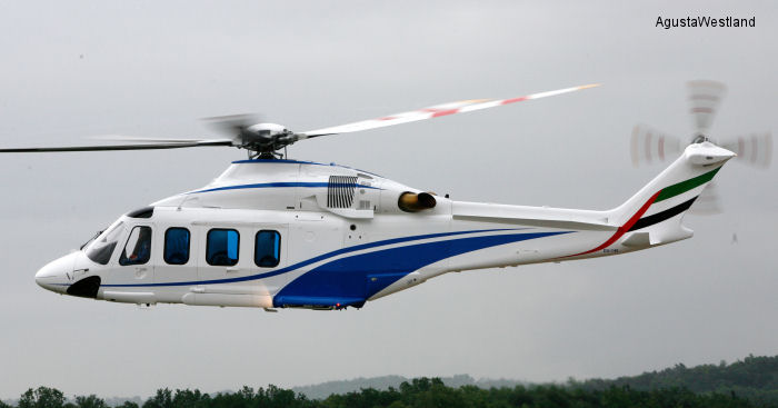Dubai Air Wing Order Two VVIP AW139s