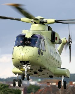 VH-71 Presidential Helicopter Test Aircraft completes maiden flight