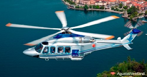 Bel Air of Denmark received their first AW139 helicopter to be used in offshore transport missions