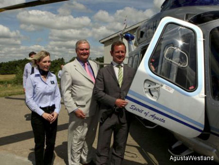 Bel Air First AW139 Helicopter Named Spirit of Agusta Enters Service