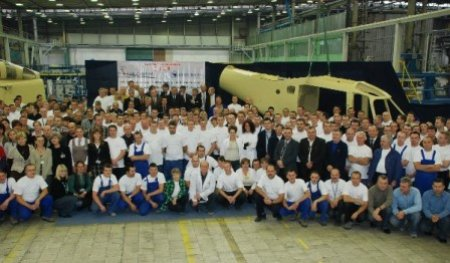PZL-Swidnik Deliver 1000th Airframe To AgustaWestland